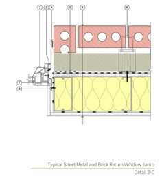 Image result for storefront window details construction details masonry systems guide assembly 2 is a rainscreen design approach with steel framed wall structure and anchored masonry veneer thecheapjerseys Images