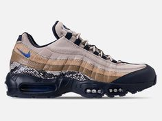 more photos 0301a 3d801 Details about Nike Air Max 95 Newsprint Blue Hero-String Men s Running Shoes  AT6152-001