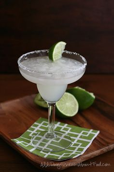 Low Carb Margaritas - That's what I'M talkin' about! Thank you, Carolyn - All Day I Dream About Food!