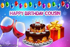 Happy Birthday Wishes Cousin