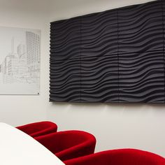 3d Wave Wall Tile Plaster Seamless Architectural Led