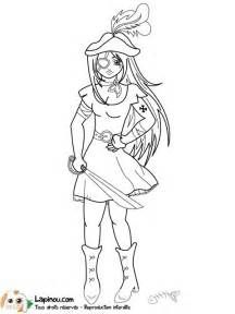 18 meilleures images du tableau dessins pirate fille - Coloriage fille pirate ...