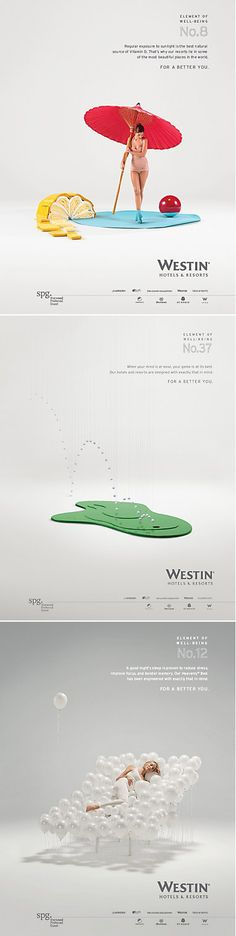 Westin Hotel and Resorts. the innocent archetype