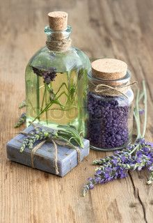 Lavender oil..there is something mystical in it.