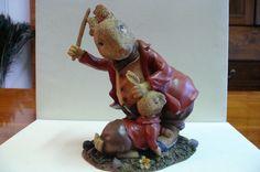 Seltene Hasenfiguren  | eBay Dinosaur Stuffed Animal, Toys, Animals, Ebay, Bunny, Round Round, Figurine, Ideas, Activity Toys