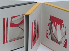 A book by Wendy Kennedy made using a Hedi Kyle folded structure.