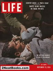 Attack on Suez  life magazine cover: 19 Nov 1956