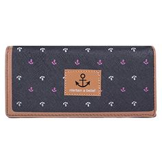 New Trending Clutch Bags: Damara Girls Student Anchor Printing Leather Bifold Clutch Purse,Black. Damara Girls Student Anchor Printing Leather Bifold Clutch Purse,Black   Special Offer: $9.99      277 Reviews This Women¡¯s Wallet features with faux leather with a button closure for your important items safe inside. This wallet has 1 window ID, 4 slip card slots for your credit cards and...