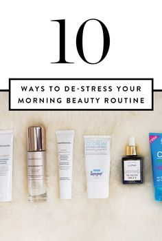 Skip the stress when it comes to getting out the door in the morning. Shorten your daily routine with these genius beauty hacks.