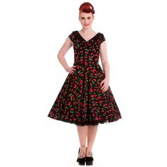 Hell Bunny 50's Cherry Pop Dress