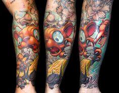 Tattoo by Jesse Smith | Tattoo No. 3557