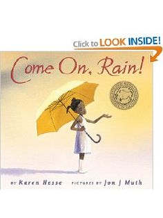 Come On, Rain! by Karen Hesse - read aloud w/ Out of the Dust to compare author style/word choice African American Books, American Children, American Food, Writer Workshop, Readers Workshop, Weather For Kids, Weather Unit, Weather Book, Sensory Details