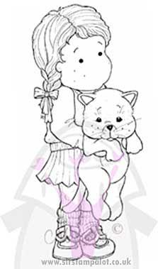 Magnolia EZ Mount - Tilda with Cat