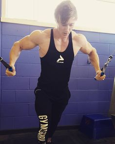 Nailed chest day Rocking the the TeamPure stringer! . .  Use code: JFUNNELL10 for 10% OFF!  http://ift.tt/1VgcBJ4 . . . .  Tags: #beanidentity #teampure #motivation #determination #pure #squats #gym #alpha #workout #fitnessmotivation #bodypowerexpo #fitness #gymwear #gains #ukbff #wbff #nutrition #supplements #fitfam #strong #abs #bodybuilding #physique #eat #gymshark #focus #alphalete #pursuefitness #dream by jamesss24