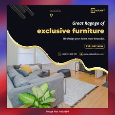 Explore E_vector best graphic resources Black Friday Furniture Sale, Ads Banner, Social Media Banner, Vector Photo, Design Your Home, Layout Inspiration, Displaying Collections, Banner Design, Layouts