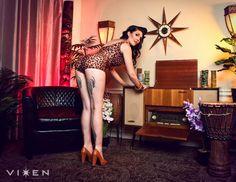 Photo: VIXEN Photography  Model: Danielle Mann MU: Valerie Vonprisk Hair: Madison Jane VixenPhotography.com