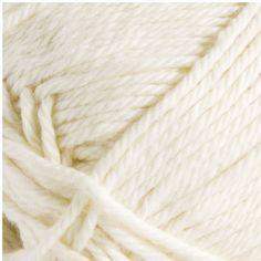Unsure organic cotton yarn - worsted - Marshmallow - 24761