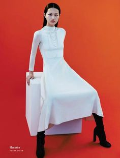 """Nascent Potential"" by Xiao Gang for L'Officiel China September 2015"