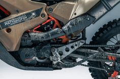 KTM 690 Enduro – Rally Custom from Rafael Gorski   DERESTRICTED