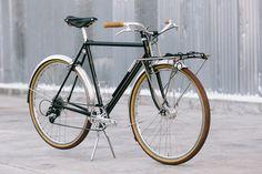 Beautiful Bicycle: Caleb's Hufnagel Porteur