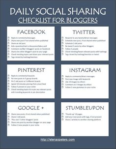 Ultimate Social Media Sharing Checklist To Boost Blog Traffic