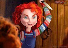 Disney princesses as horror icons   Horror Amino