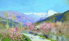 Isaac Levitan193/449 Spring in Italy (1890)