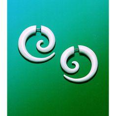 Fake Gauge Tribal Earrings Cheaters Organic By Primaloriginals