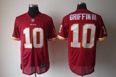 Nike NFL Jerseys Washington Redskins Robert Griffin III #10 Red