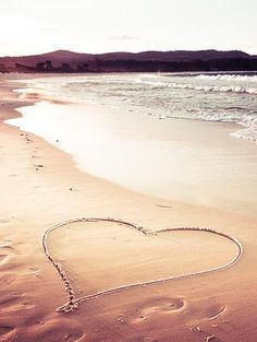Daydreaming about a romantic sunset at the beach.