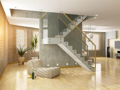 How about using beautifully styled staircase for your home?