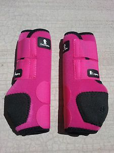 Classic Equine Legacy Boots Pink Hind Horse Tack SMB Sport ...
