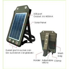 Solar panels charger