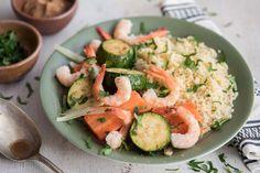 Couscous crevettes