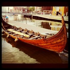 Viking ship in Tønsberg