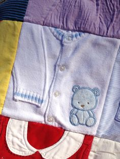 How to make Memory Quilts by The Sassy Quilter. A step by step guide to help you handle the challenges associated with working with kids clothing while quilting.
