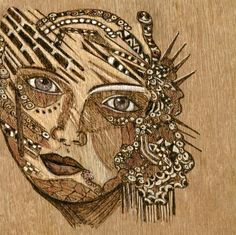 1000 images about pyrography on pinterest pyrography wood burning and woodburning - Pyrogravure sur bois professionnel ...