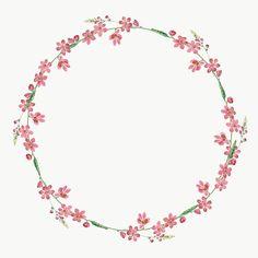 Flower Background Wallpaper, Flower Backgrounds, Pink Glitter Background, Molduras Vintage, Foto Transfer, Wreath Drawing, Free Hand Drawing, Borders For Paper, Floral Logo