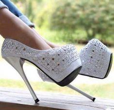 shoes white white heels white high heels heels high heels white shoes diamonds prom shoes prom debs high heel stilettos white stillettos pretty beautiful perfect perfection fabulous glamour amazing fashion bright