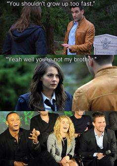 Hahahaha! XD <<< I love the last clip of them all