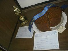 2012 St Ives Show - 1st Place - ASC Fruit Cake