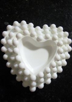 Vintage Milk Glass Candy Dishes Stacking by LuvlyWeddings on Etsy, $24.00