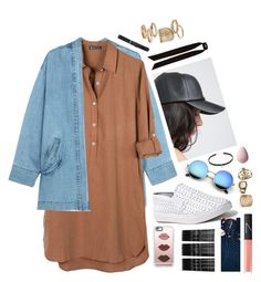 """black cap"" by blogging on Polyvore featuring Steve J & Yoni P, United by Blue, Steve Madden, Casetify, Monki, River Island, M&Co, Topshop and NARS Cosmetics"