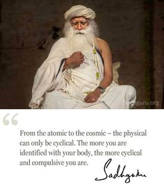 Sadhguru Just because you BELIEVE does not mean that you