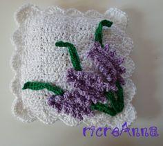 Cuscinetti alla lavanda !!! | ricreAnna - Creazioni all'uncinetto