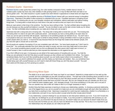Rutilated Quartz features. For more followwww.pinterest.com/ninayayand stay positively #pinspired #pinspire @ninayay