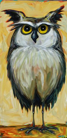 Kandice Keith Fine Art: Oswald 18 x 36 Acrylic on Canvas