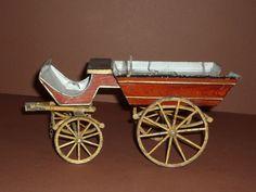 Extrem seltene Kutsche original um 1890 Bauart nur Lutz, Märklin, Rock & Graner
