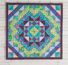 Rowan Kaffe Fassett Collective Hedge Maze Quilt - White