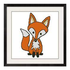 ALL STITCHES - FOX CROSS STITCH PATTERNS .PDF -732
